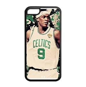 Fashionable Designed iPhone 5C TPU Case with Boston Celtics Rajon Rondo Image-by Allthingsbasketball