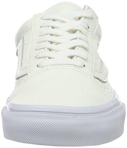 Vans Old Skool, Zapatillas Unisex Adulto Blanco (White)
