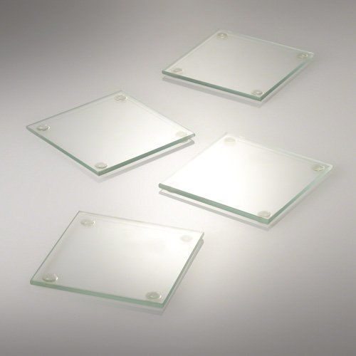 - Eastland Square Glass Coaster 4