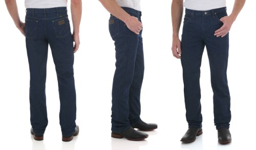 Wrangler Men's Premium Performance Cowboy Cut 5 Pocket Slim Fit Jeans