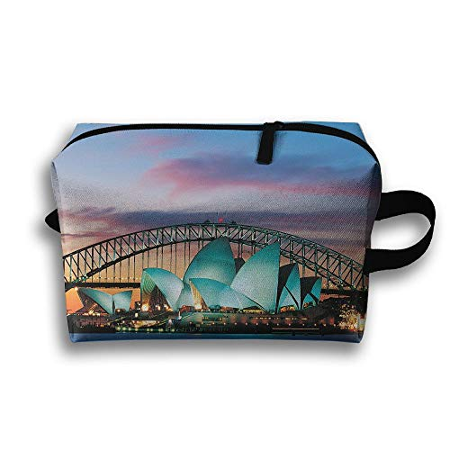 Sydney Opera House Australia Cosmetic Bags Makeup Organizer Bag Pouch Zipper Purse Handbag Clutch Bag]()