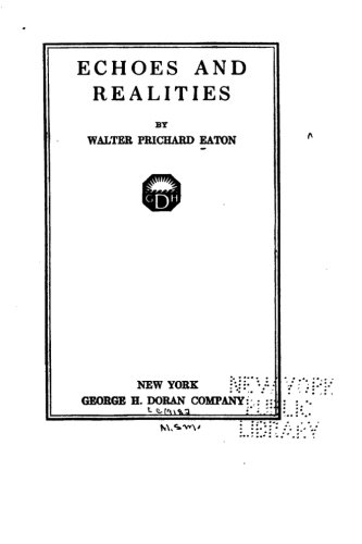 Download Echoes and Realities PDF