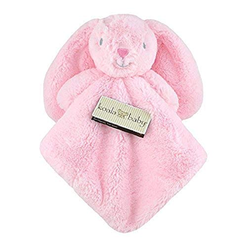 Koala Baby Pink Rabbit Bunny Security Blanket Nunu 15 in x 15 in New with Tags Ages 0+ Bunny Rabbit Security Blanket