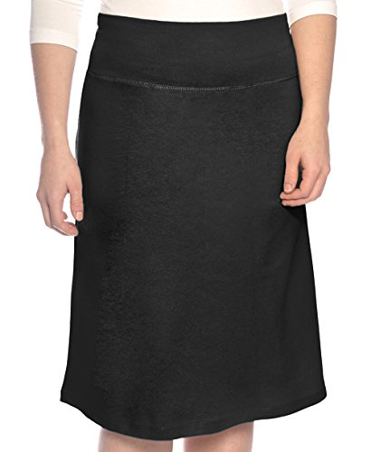 Kosher Casual Women's Modest A-Line Cotton Spandex Knee Length Sports Skirt Medium - To Shipping Israel Usps