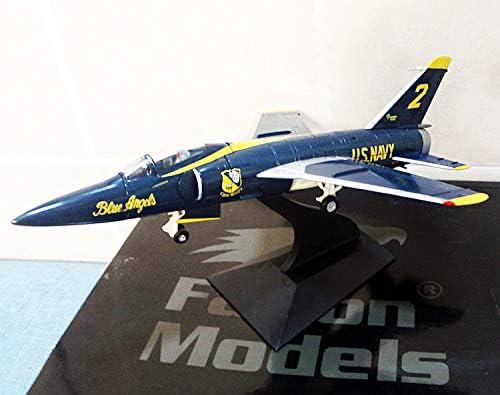1/72 完成品 Falcon Models Tiger F11F-1 Blue Angel 2# ダイキャスト 戦闘機