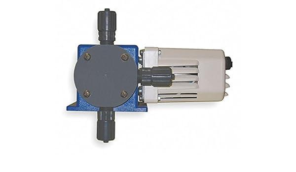 Amazon com: Diaphragm Chemical Metering Pump, Adjustable