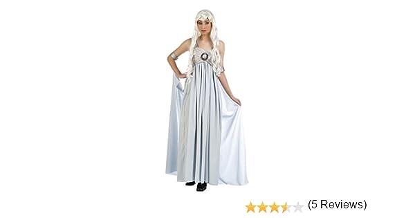 Limit - Disfraz Adulto Juego de Tronos Blanco Talla s: Amazon.es ...