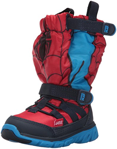 Stride Rite Made 2 Play Sneaker Winter Boot (Toddler/Little Kid), Red, 7 W US Toddler