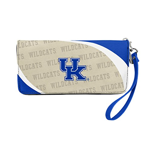 NCAA Kentucky Wildcats Curve Zip Organizer Wallet ()