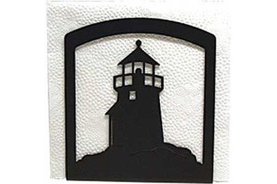Village Wrought Iron NH-10 Lighthouse Napkin Holder   B000XDCO3A