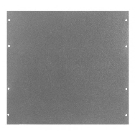 Black Texture Finish for Electronics Enclosure 19 Width x 19-1//4 Height x 7//64 Thick PA-1111-BT BUD Industries Series PA Aluminum Surface Shield Panel 19 Width x 19-1//4 Height x 7//64 Thick