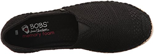 Skechers Bobs Donna Flexpadrille 2 Nero Piatto
