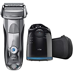 Braun Series 7 790cc-4 Electric Foil Shaver with Clean&Charge Station, 1 Count
