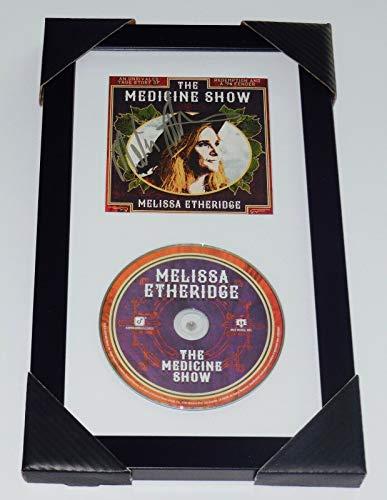 - Melissa Etheridge Autographed CD (Framed & Matted) - The Medicine Show!