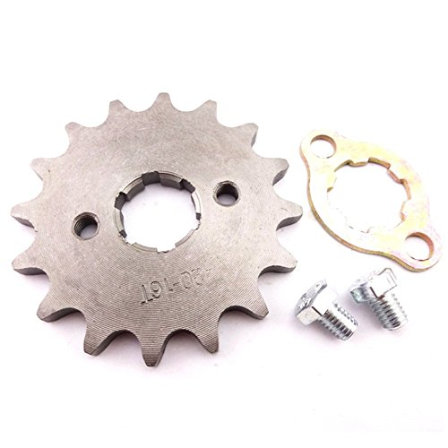 TC-Motor 420 16 Tooth 20mm Front Chain Sprocket Gear For 50cc 70cc 90cc 110cc 125cc 140cc 150cc 160cc Engine ATV Quad Pit Dirt Trail Bike