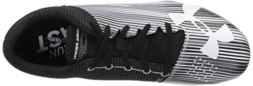 Under Armour Men's Kick Sprint Spike Running Shoe White (100)/Black 12 by Under Armour (Image #8)