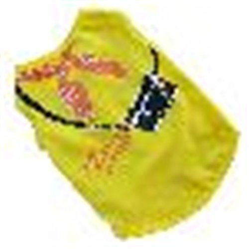 Price comparison product image Pet Clothes,Haoricu Summer Printing Vest Dog Pet Clothes for Small Dogs Dog Vest (S, Yellow)