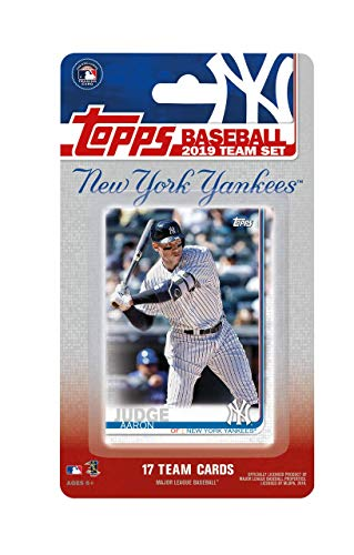 New York Yankees 2019 Topps Factory Sealed 17 Card for sale  Delivered anywhere in USA