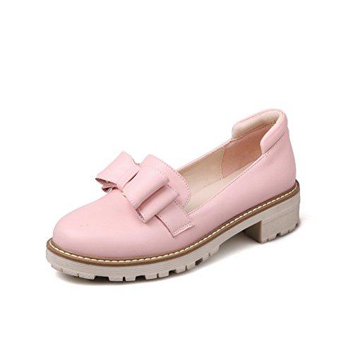 En Talon Balamasa Carré Rose Femme Pour Uréthane escarpins Chaussures HYxxqr6dw