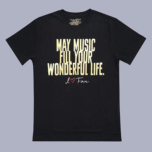 安室奈美恵 展示会 namie amuro Final Space music Tシャツ BLACK 黒 XLサイズ 沖縄 安室ちゃん ライブ トップス