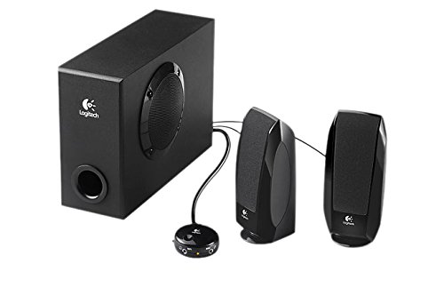 Logitech S220 2.1 Speaker System with Subwoofer
