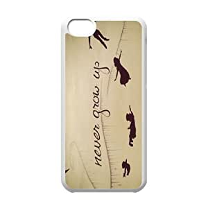 LJF phone case Forever Young Unique Fashion Printing Phone Case for Iphone 5C,personalized cover case ygtg590768