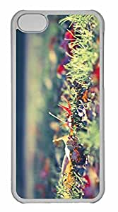 iPhone 5C Case, Personalized Custom Fall Foliage 2 for iPhone 5C PC Clear Case