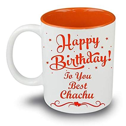 buy juvixz printed happy birthday to you best chachu inside orange