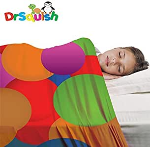 Dr Squish sensory compression sheet, blanket, pouch, sleeve great alternative or addition to traditional weighted blankets. Single Bed size is strechy, breathable and comfortable for a great night sleep