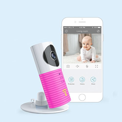 JTD Smart Wireless IP WiFi DVR Security Surveillance Camera with Motion Detector Two-way Audio & Night Vision Best Security Camera Baby Monitor for your Baby,Home, Pet or Business (Baby Pink) [並行輸入品] B01N6MT62Q