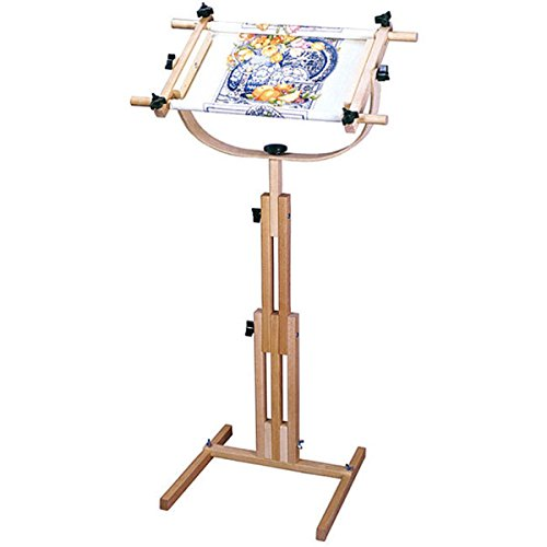 Adjustable Floor Standing Scroll Frame by Scroll Frame