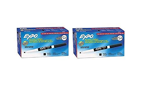 Expo Black Erase Marker Packs