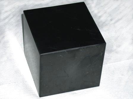 Shungite Cube Polished 50x50mm