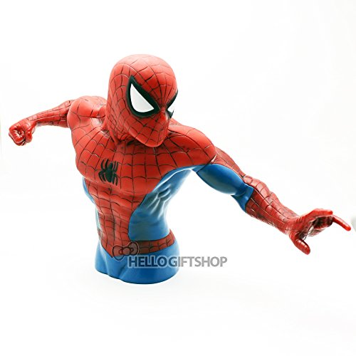 Marvel Spiderman The New Bust Die Cut Piggy Bank (Coin Bank)
