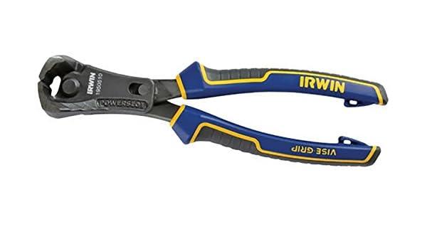 Irwin visegrip 1950510 - Alicate de presión 8 pulgadas alicates de corte máx finales de apalancamiento - azul / amarillo: Amazon.es: Bricolaje y ...