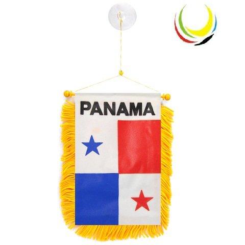 flagsandsouvenirs Mini Banner PANAMA