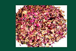 One Pound Dried Red Rose Buds and Petals