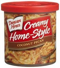 Duncan Hines, Creamy Home-Style Coconut Pecan Frosting, 15oz Tub (Pack of 3)