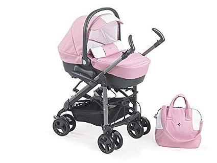 TRIO Synchro bebé silla de paseo Cochecito Rosa 601: Amazon ...