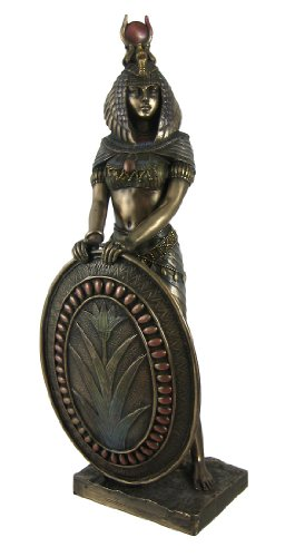 Standing Isis Statue Egyptian Goddess Bronze (Standing Statue Figurine)
