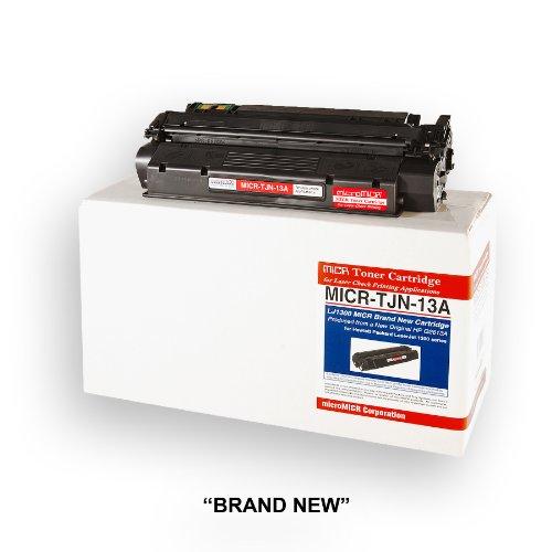 MICROMICR Corporation MICRTJN13A MICR Laser Toner for hp Laserjet 1300 Series, Black ()