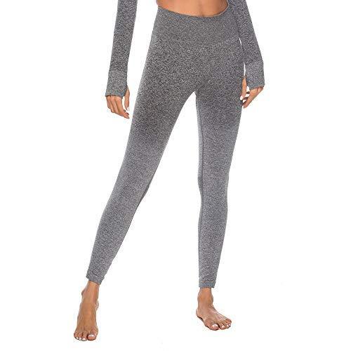 Geilisungren Pantalones de Yoga para Mujer, Pantalon Fitness ...