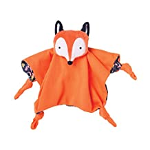 Manhattan Toy 215470 Camp Acorn Fox Snuggle Blankie Baby Toy