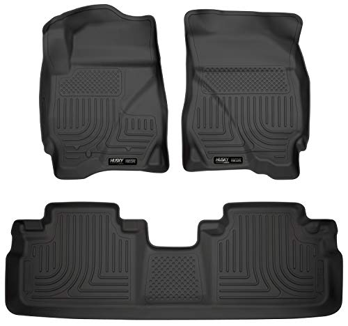 Husky Liners Front & 2nd Seat Floor Liners Fits 09-12 Escape, 09-11 Tribute (Mercury Mariner Cargo)