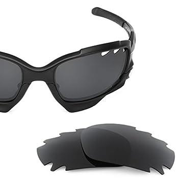 SURE Basic Lentes de Recambio Polarizadas Negro Espejo para Oakley Jawbone Vented