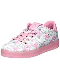 Geox Girl's J KOMMODOR Girl Sneakers