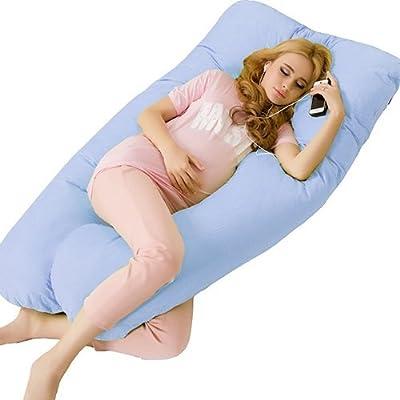 Maternity Pregnancy Arm Body Sleeping Pillow Covers U Shape Cushion