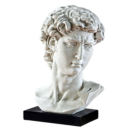 Design Toscano Bust of Michelangelo's David Statue by Design Toscano