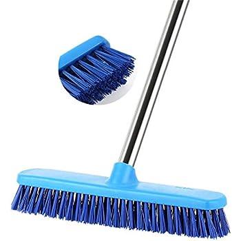 Amazon Com Huyijjh Floor Scrub Brush With Adjustable Long