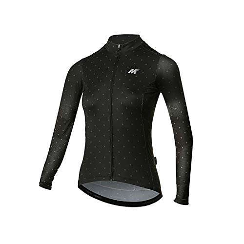 - Mysenlan Women's Cycling Jersey Long Sleeve Shirts Bike Bicycle Breathable Riding Sports Jerseys Black L